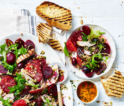 CH4872_Charter Hall_National_Recipes Spring 2019_WebTiles_FA_Beetroot, Blood Orange & Pork Salad_404x346
