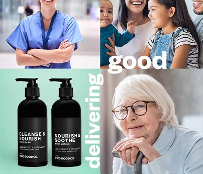 Delivering good care packs 404 x 346